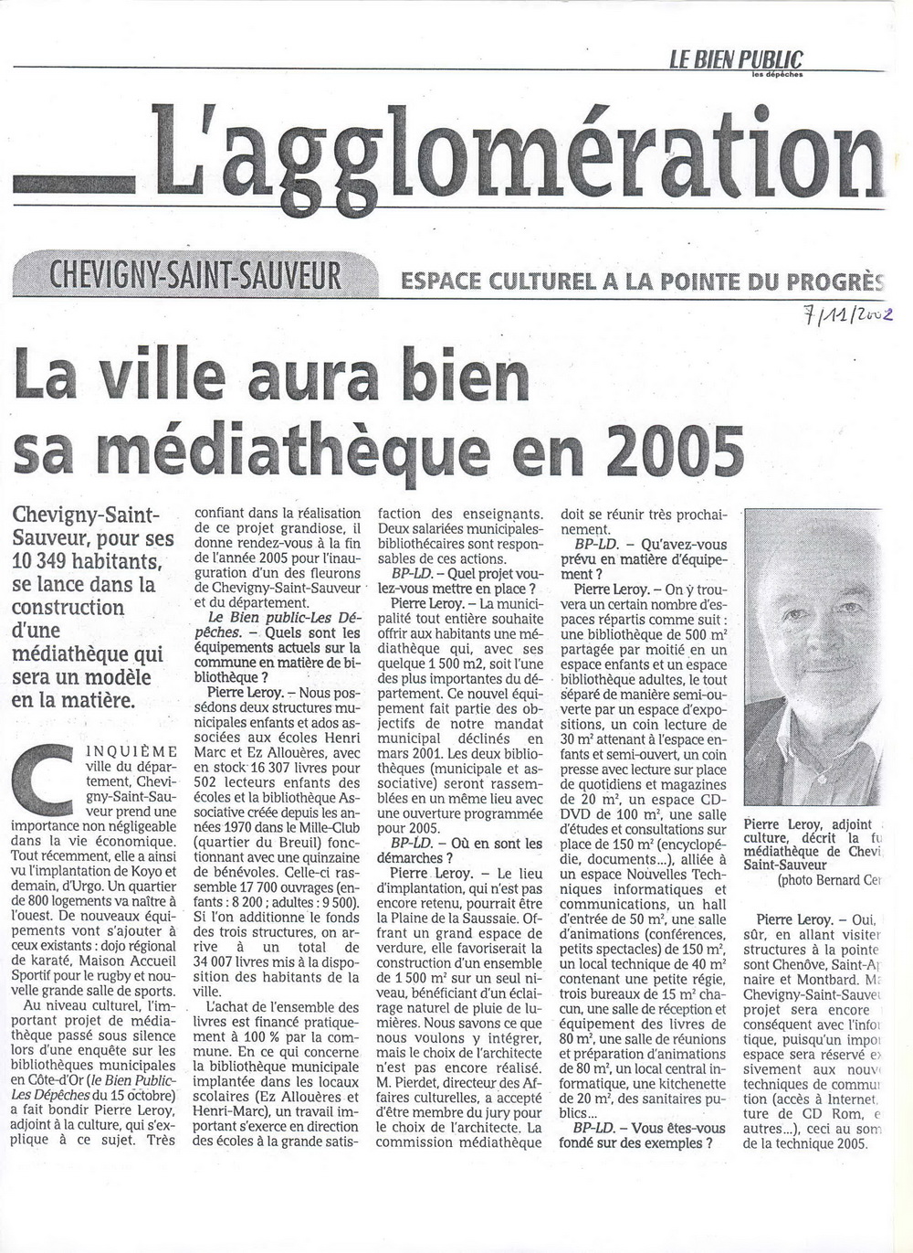 mediatheque 2002 site web